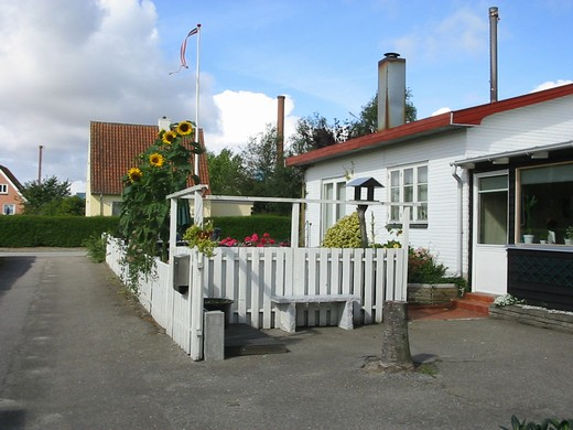 Bed and Breakfast i Overnatning i Sæby midtby